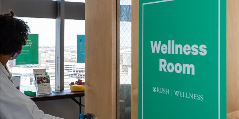 The Rush Wellness Room