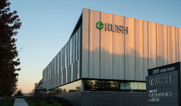 Rush Oak Brook exterior