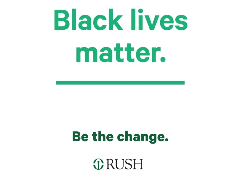 Black lives matter printout