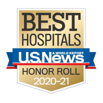 Rush University Medical Center is a 2020-21 U.S. News honor roll hospital.