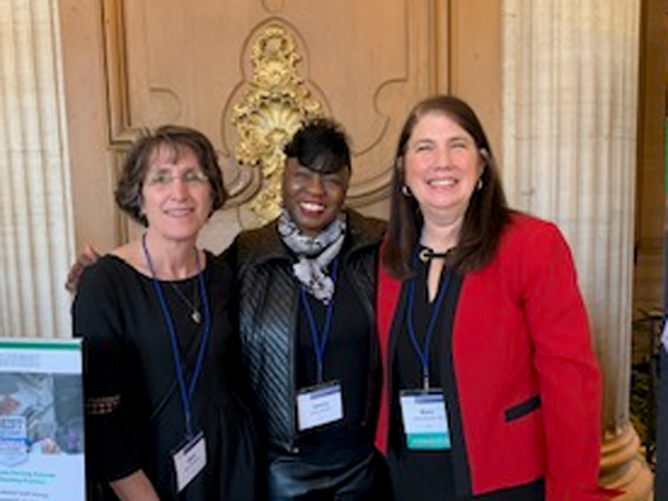 L. to R., Beth A. Staffileno, Janice Phillips and Mary Heitschmidt