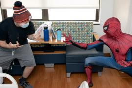 Spider-Man at Children's Hospital