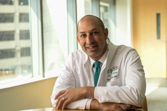 Omar Lateef, DO, CEO of Rush University Medical Center