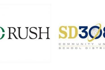 Logos for Rush and SD 308
