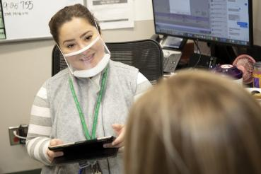 Rush University Medical Center now offering FDA-approved transparent face masks