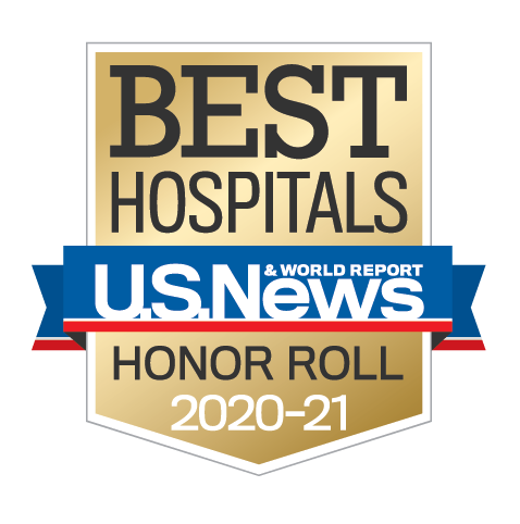 U.S. News Best Hospitals Honor Roll 2020-2021
